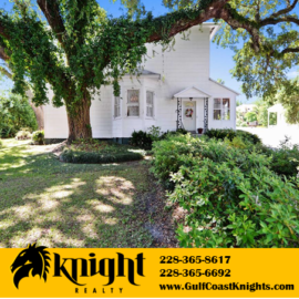 502 E 2nd Street Pass Christian MS; Over 2,500 sq ft; 4BR 3.5BA; $489,900